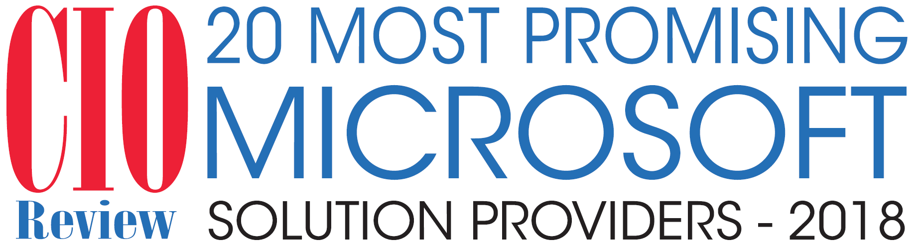 """TrnDigital Recognized as """"20 Most Promising Microsoft Solution Providers - 2018"""""""